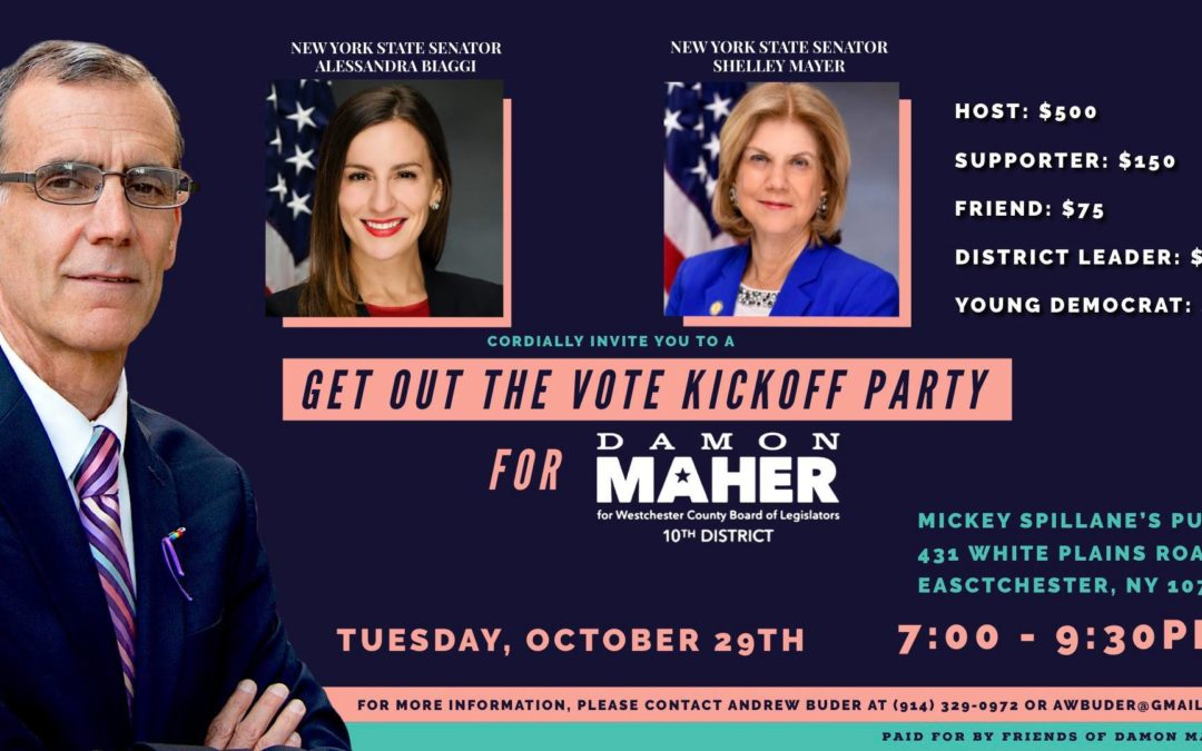 Get Out the Vote Kickoff Party